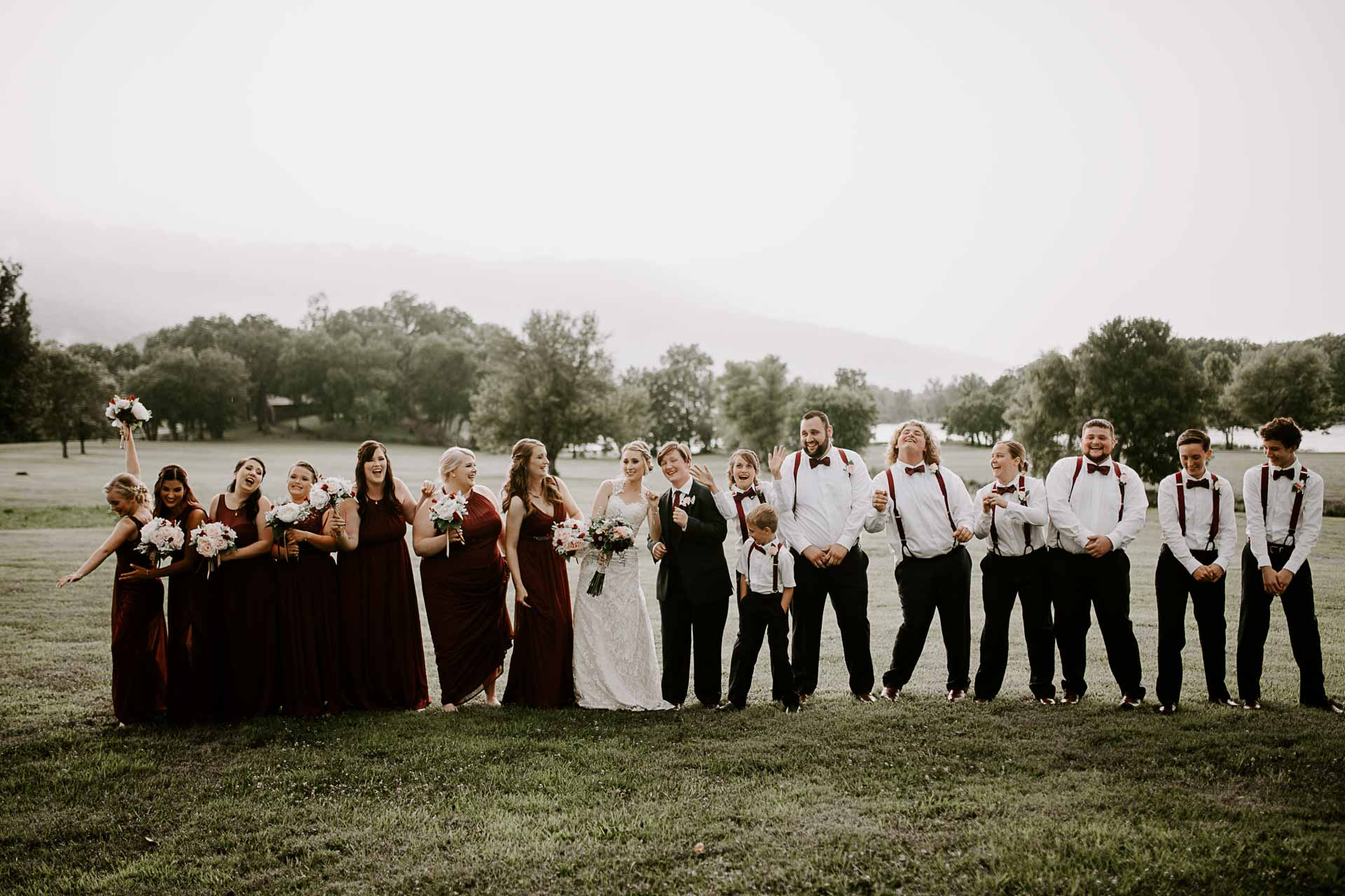 bridal party chattanooga