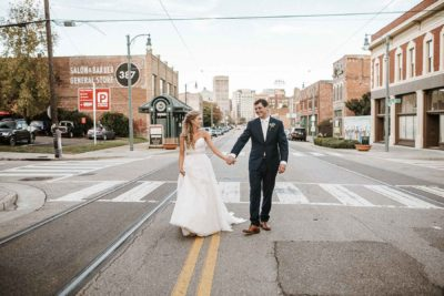 downtown memphis wedding photography