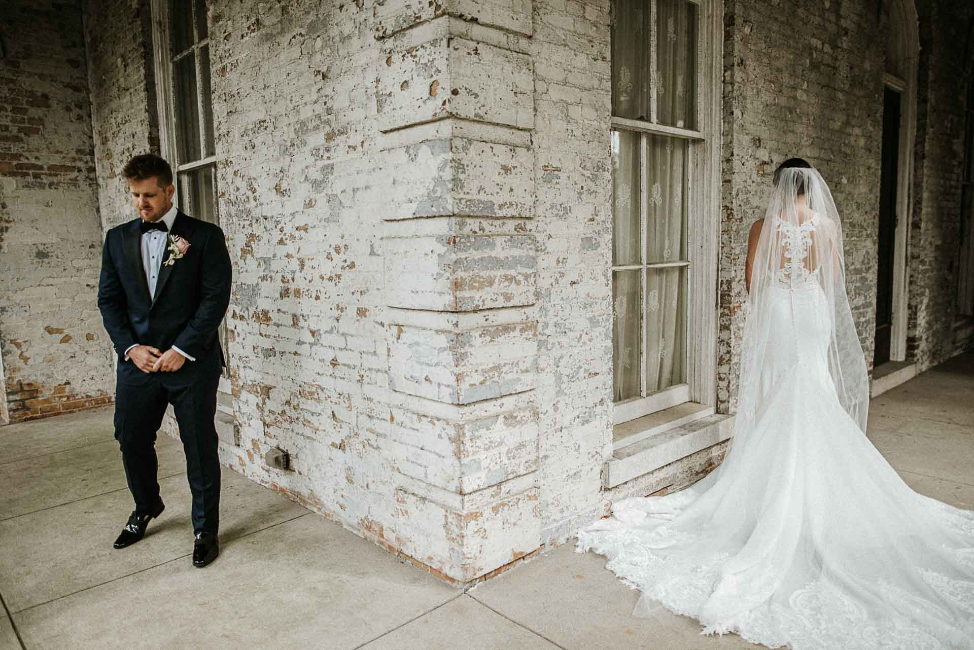 annesdale mansion first look memphis wedding