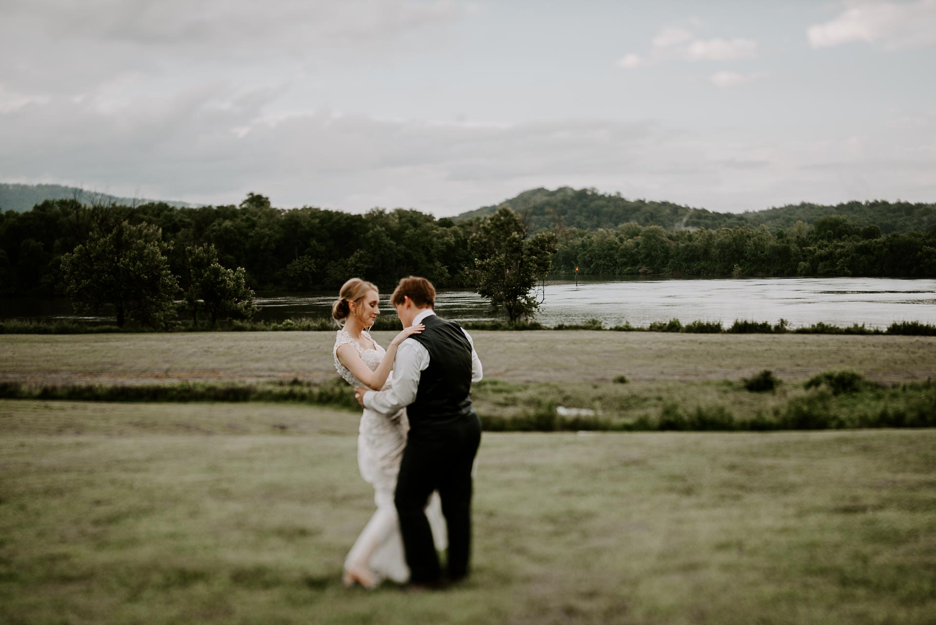 LGBTQI+ Tennessee Riverplace wedding photography