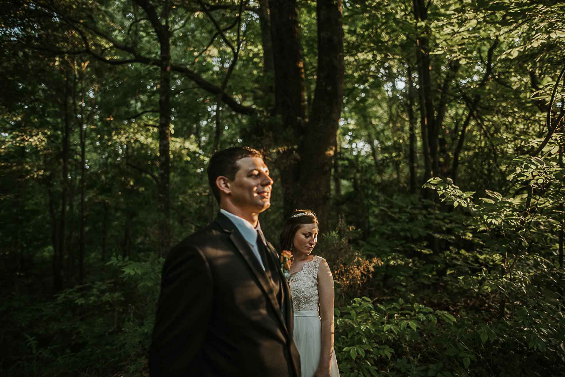 lichterman nature center wedding photographer